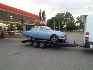 Transport aut z Anglii na lawecie